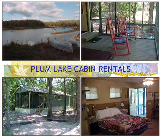 Plum Lake Cabins Rentals